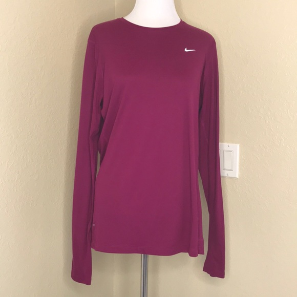 Nike Tops - Nike | Running Dri-Fit Nike Miler Long Tee